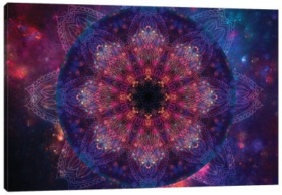 Galactic Vision Canvas Art Print