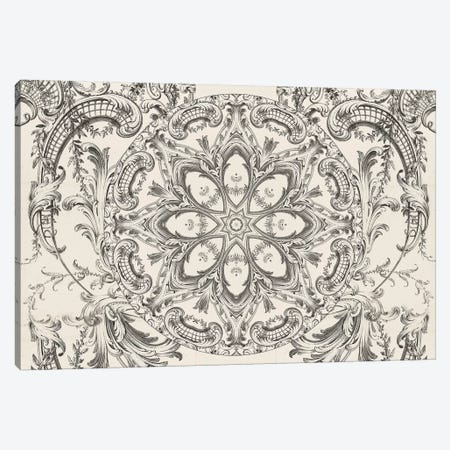 Scrollwork Daydreams Canvas Print #AIM22} by Aimee Stewart Canvas Artwork