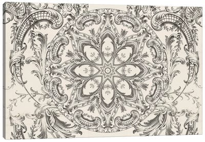 Mandala Series: Scrollwork Daydreams Canvas Art Print