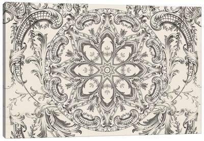 Mandala Series: Scrollwork Daydreams Canvas Print #AIM22
