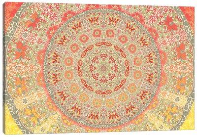 Mandala Series: September Sunlight Canvas Print #AIM23