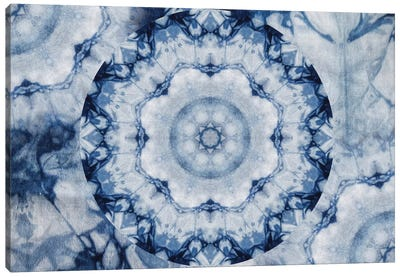 Mandala Series: Shibori Sigh Canvas Art Print