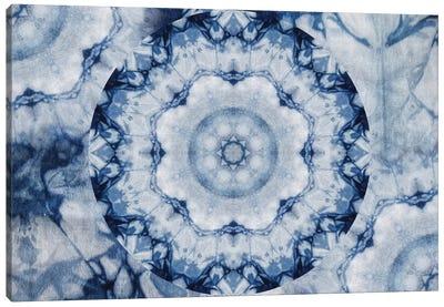 Mandala Series: Shibori Sigh Canvas Print #AIM24