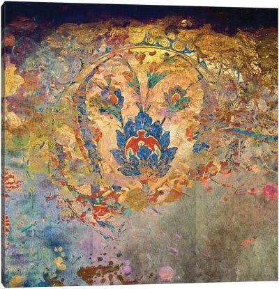 Blue Temple Canvas Art Print