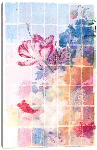 Smokey Floral Series: Tiger Lily Canvas Print #AIM31