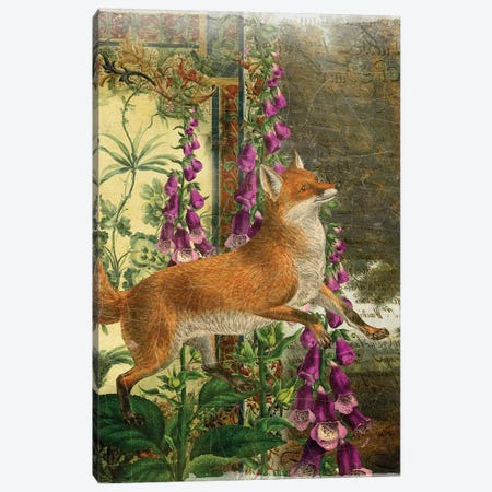 Fox Canvas Print #AIM36} by Aimee Stewart Canvas Wall Art
