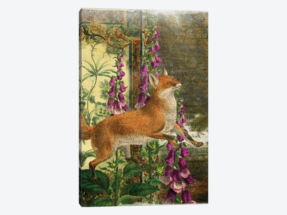 Whimsical Animals Series: Fox by Aimee Stewart 1-piece Canvas Print
