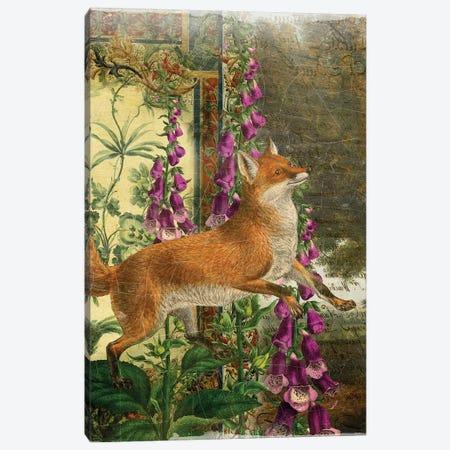 Fox Canvas Print #AIM36} by Aimee Stewart Canvas Wall Art