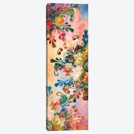 Flower Mandala Canvas Print #AIM53} by Aimee Stewart Canvas Print