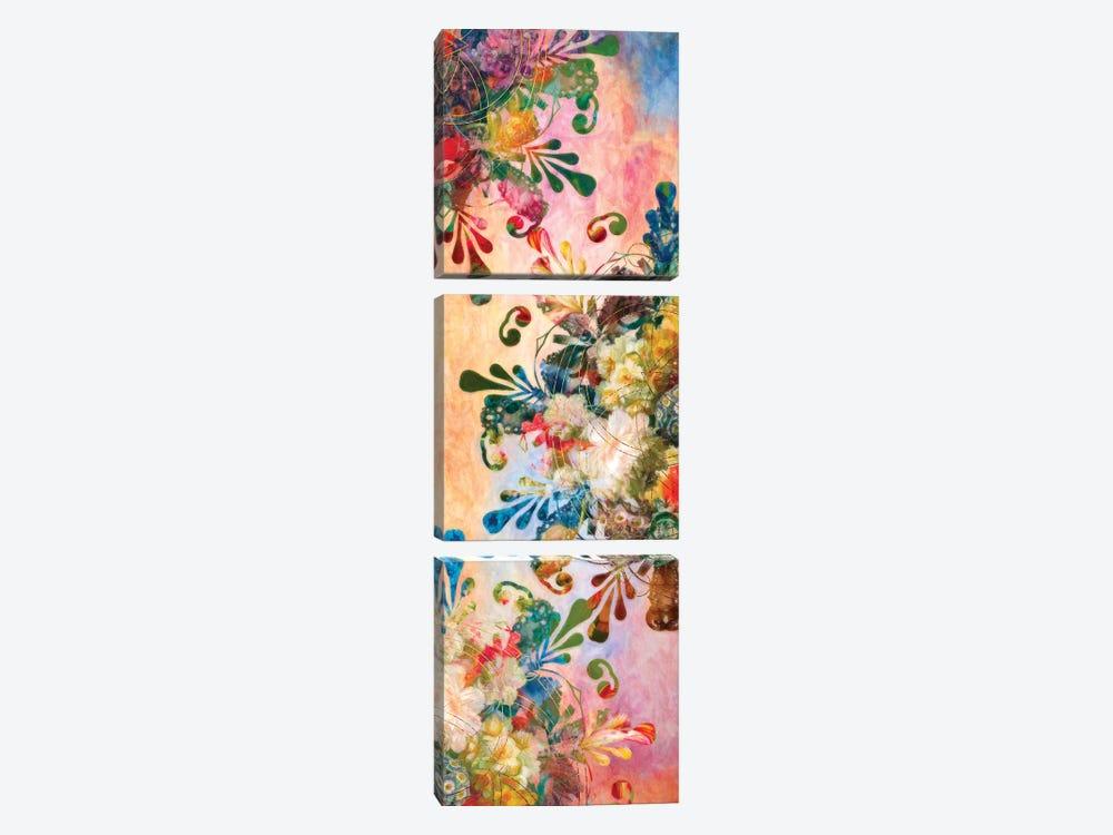 Flower Mandala by Aimee Stewart 3-piece Canvas Art
