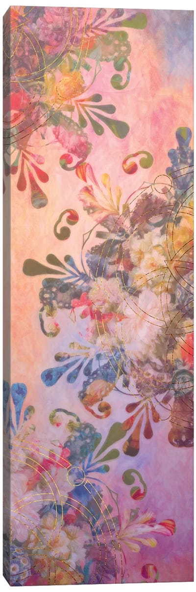 Flower Mandala II Canvas Art Print