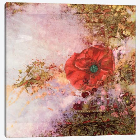 Poppy Dreams Canvas Print #AIM6} by Aimee Stewart Canvas Print