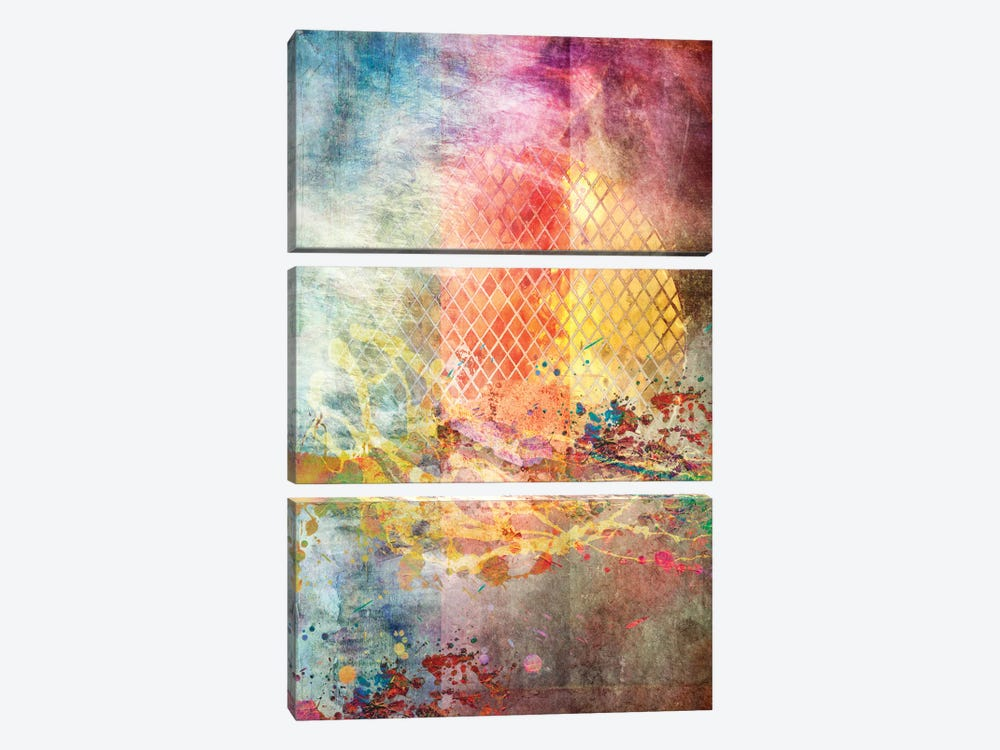Beyond The Sun by Aimee Stewart 3-piece Canvas Print