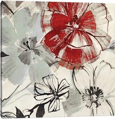 Red Gems II Canvas Art Print