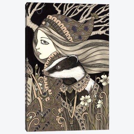 Vasilisa Canvas Print #AIV105} by Anita Inverarity Canvas Artwork
