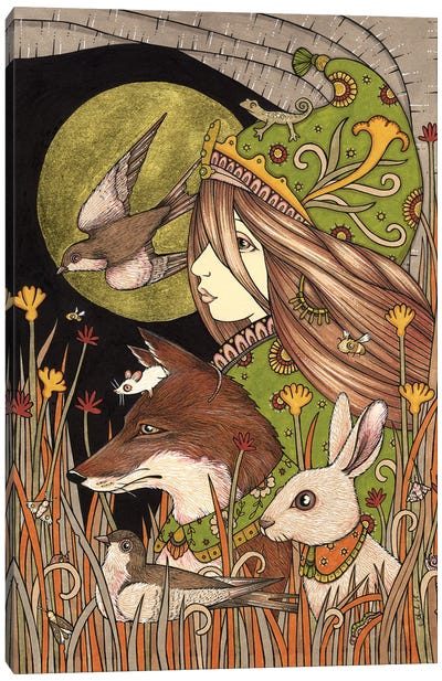 Earthlings Canvas Art Print
