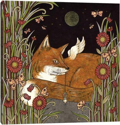 Fox Fae Canvas Art Print