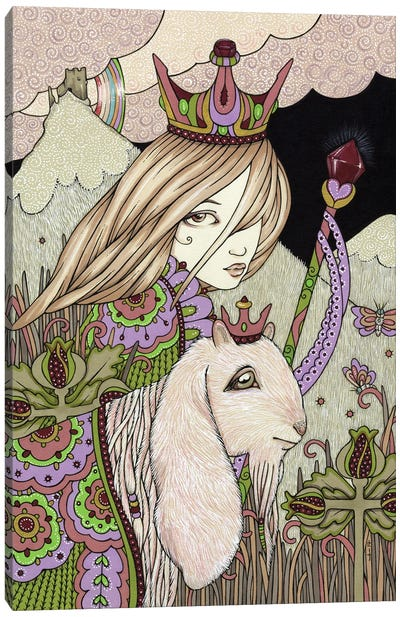 Garnet And Pomegranite Canvas Art Print