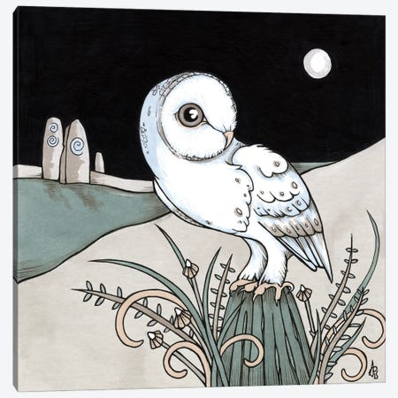 Ghost Canvas Print #AIV32} by Anita Inverarity Canvas Art