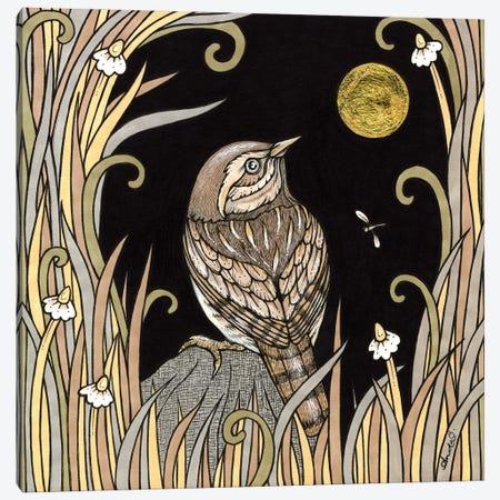 Hiding Wren Canvas Print #AIV37} by Anita Inverarity Canvas Art Print