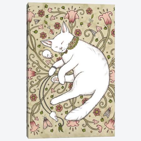 Mice And Moths Canvas Print #AIV47} by Anita Inverarity Canvas Wall Art