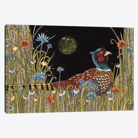 Midnight Meadow Canvas Print #AIV48} by Anita Inverarity Art Print