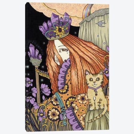 Amethyst & Violet Canvas Print #AIV4} by Anita Inverarity Canvas Art Print