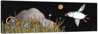 Night Flight Canvas Art Print