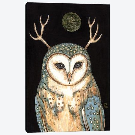 Owl Spirit Canvas Print #AIV59} by Anita Inverarity Canvas Art