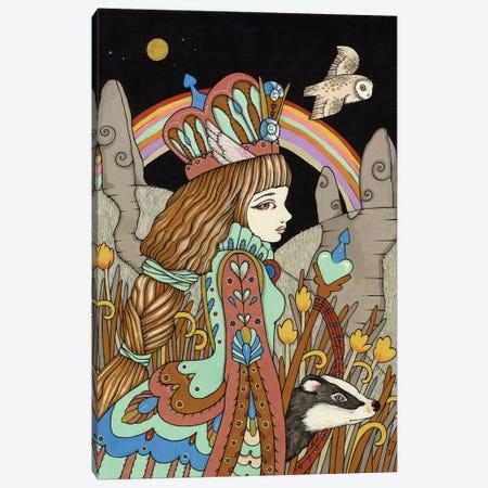 Aquamarine Dream Canvas Print #AIV6} by Anita Inverarity Canvas Art Print