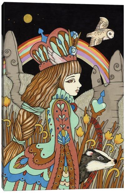 Aquamarine Dream Canvas Art Print