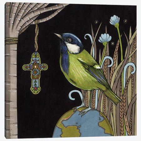Reverend Green Canvas Print #AIV70} by Anita Inverarity Canvas Artwork
