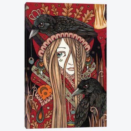 Ritual Remembering Canvas Print #AIV71} by Anita Inverarity Canvas Artwork