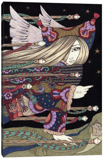 Ariel Canvas Art Print