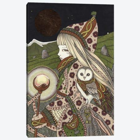 The Hermit Canvas Print #AIV92} by Anita Inverarity Canvas Artwork