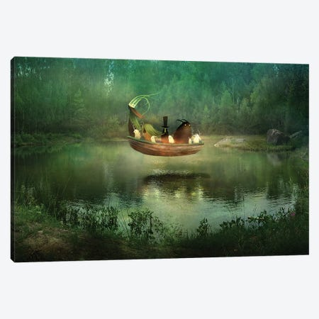 Hunnebo Canvas Print #AJA15} by Alexander Jansson Canvas Artwork