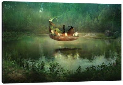Hunnebo Canvas Art Print