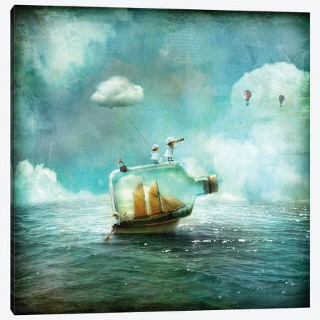 Juni Canvas Print #AJA17} by Alexander Jansson Canvas Wall Art