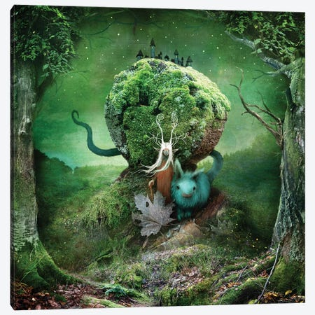 Margrete Canvas Print #AJA18} by Alexander Jansson Canvas Print
