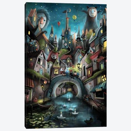 Pinnacles Canvas Print #AJA23} by Alexander Jansson Canvas Wall Art
