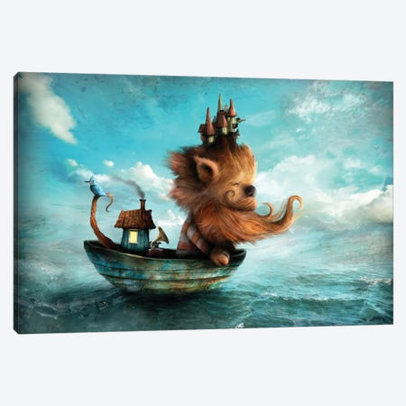 Redbeard Canvas Print #AJA27} by Alexander Jansson Canvas Print