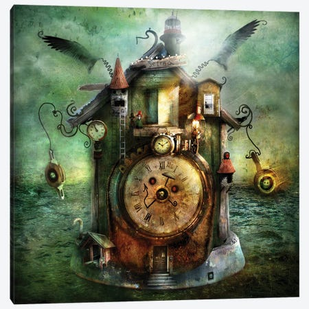 Selma Canvas Print #AJA28} by Alexander Jansson Canvas Wall Art