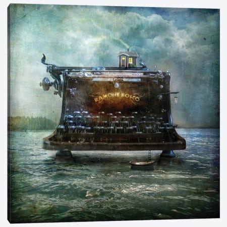 The Writers House Canvas Print #AJA35} by Alexander Jansson Canvas Artwork