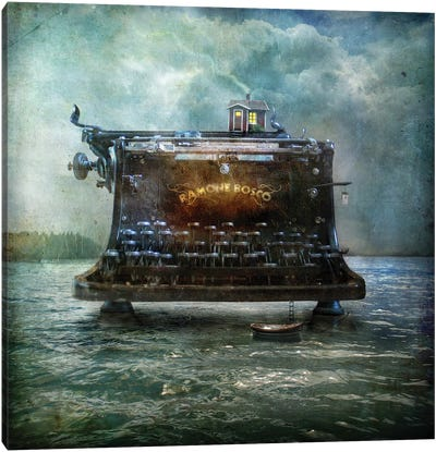 The Writers House Canvas Art Print