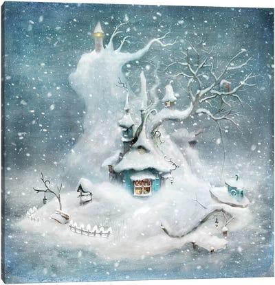 Vintern Canvas Art Print