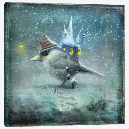 We Come In Peace Canvas Print #AJA39} by Alexander Jansson Canvas Art Print