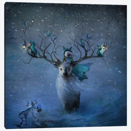 Winterlings Canvas Print #AJA44} by Alexander Jansson Art Print