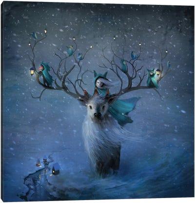 Winterlings Canvas Art Print
