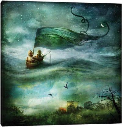 Dive Canvas Art Print