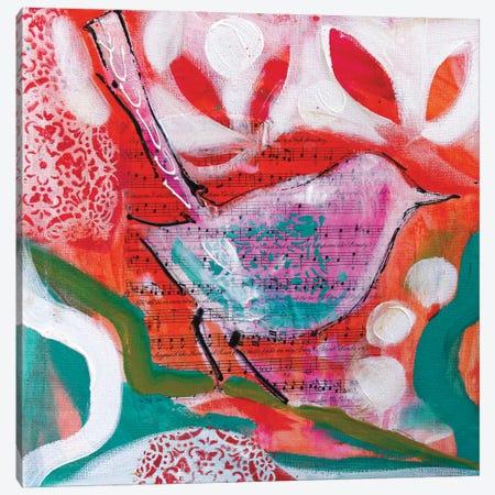 Petite Bird III Canvas Print #AJB10} by Amanda J. Brooks Canvas Art